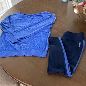 Reebok workout outfit